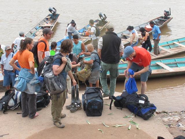 départ de Puerto Inca pour Puerto Sira