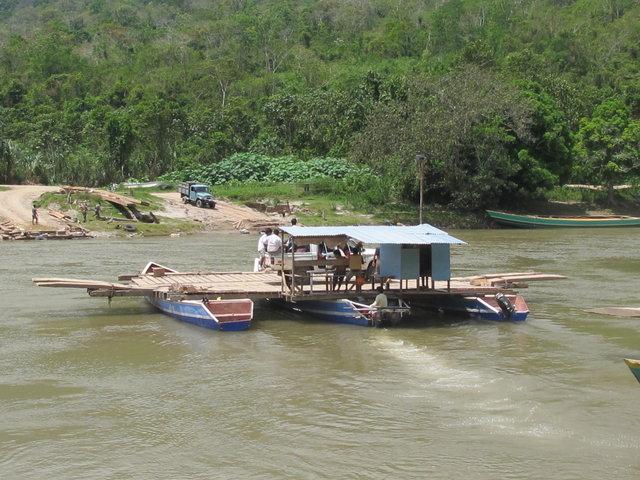 traversée du rio Perenné